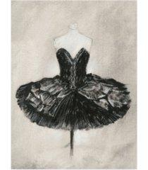 "ethan harper black ballet dress i canvas art - 36.5"" x 48"""