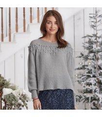gossamer beauty pullover - petites