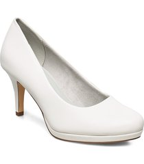 woms court shoe shoes heels pumps classic vit tamaris