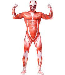 attack on titan shingeki kyojin cosplay adult giant muscle costume full bodysuit
