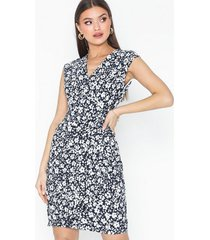 lauren ralph lauren rodya-cap sleeve-day dress fodralklänningar