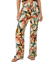 o'neill juniors' johnny floral-print pants