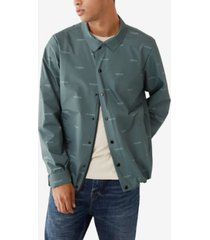 men's coaches all over printed jacket