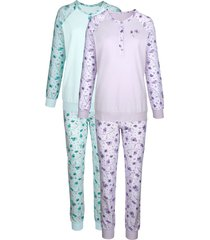 pyjama harmony mint/lila