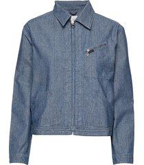 191 j jacket jeansjacka denimjacka blå lee jeans