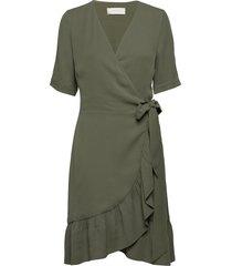high pressure korte jurk groen fall winter spring summer