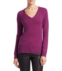 collection featherweight cashmere v-neck sweater