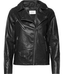 lilith biker jacket läderjacka skinnjacka svart sparkz copenhagen