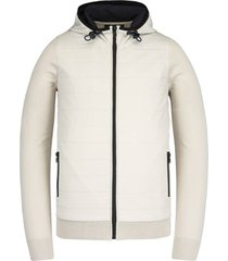 hooded jacket cotton polyamide