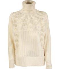 agnona cashmere turtleneck sweater mixed points