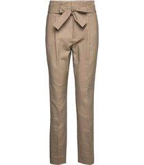 trousers pantalon met rechte pijpen beige noa noa