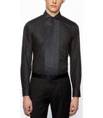 boss men's jalvin slim-fit evening shirt