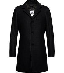 holger compact melton coat yllerock rock svart j. lindeberg