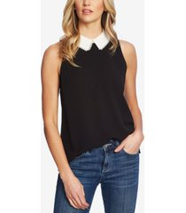 cece embroidered collar blouse