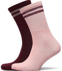 lam sock 2pk lingerie socks regular socks multi/mönstrad kari traa