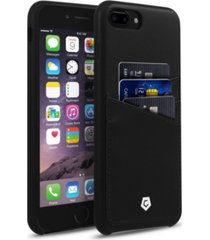 cobble pro premium leather case with id credit card slot for apple iphone 7 plus, 8 plus