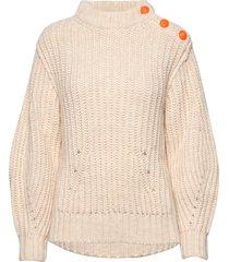 marlon awa alpaca sweater stickad tröja beige zadig & voltaire