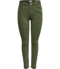 skinny jeans blush mid skinny fit ankle raw