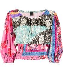 pinko boat neck blouse
