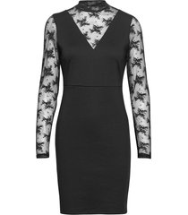 ihkate lace dr2 kort klänning svart ichi