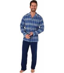 heren pyjama normann 90481-56-grijs