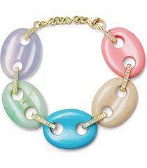pastel mariner link bracelet