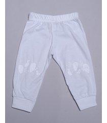 pantalón blanco pecosos pima unisex