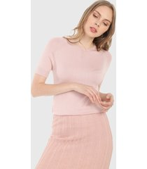 camiseta rosa mng