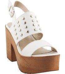sandalia blanca mannarino