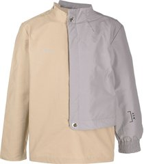 a-cold-wall* paneled padded jacket - neutrals