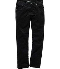pantaloni in velluto elasticizzato regular fit (nero) - bpc selection