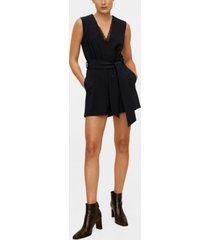 mango belt short jumpsuit