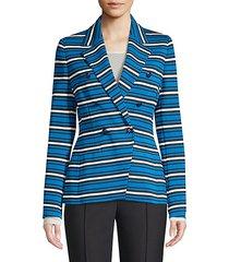 beskari double-breasted blazer jacket