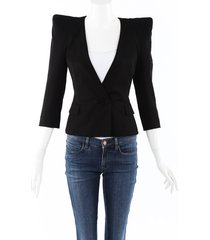 balmain structured blazer jacket