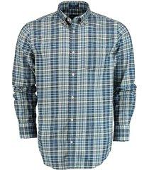 gant overhemd regular fit blauw 3011430/442