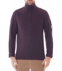 c.p. company turtle neck sweatshirt  chocolate  155a-5292a 593