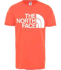 t-shirt korte mouw the north face nf0a4m7x