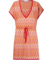 brigitte knit beach dress - yellow