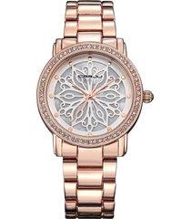 orologi da donna eleganti con quadrante unico con fiocco di neve