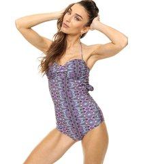 traje de baño violeta darling sport