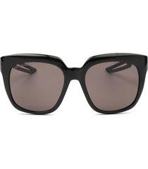 balenciaga balenciaga bb0025s black sunglasses
