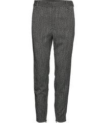 janickaiw pant nica fit pantalon met rechte pijpen grijs inwear