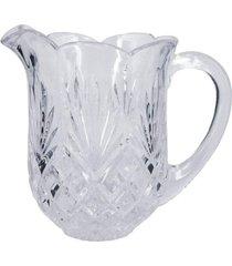 jarra de vidro lapidado frans - incolor - dafiti