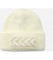 dondup beanie hat made of wool