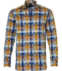 jac hensen overhemd - modern fit - oker
