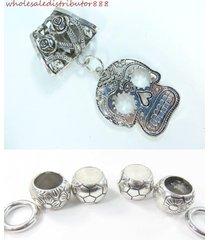 us seller sugar skull pendant slide scarf ring set scarf pendant jewelry