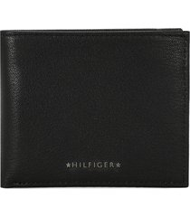 billetera negro tommy hilfiger