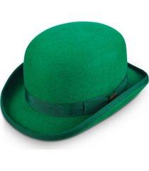 men's wool bowler hat