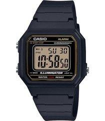 reloj  casio modelo w217h_9av negro
