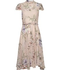 liv dress knälång klänning rosa ida sjöstedt